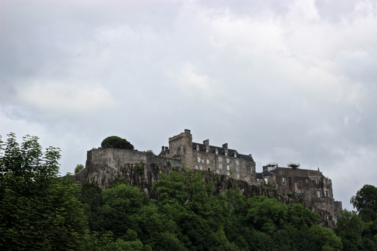 Photobook: Braving Stirling Castle